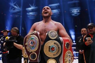 Fury thắng Klitschko, vô địch quyền anh hạng nặng thế giới
