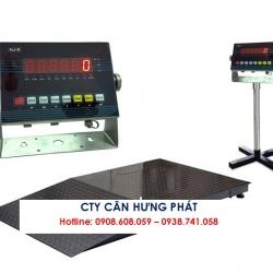Cân sàn điện tử VIBRA HJ-R 1 tấn - Cân điện tử Hưng Phát
