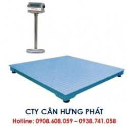 Cân sàn điện tử 1 tấn - Cân điện tử Hưng Phát