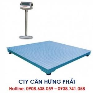 Cân sàn điện tử 500kg - Cân sàn công nghiệp 500kg - Cân điện tử Hưng Phát