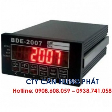 Đầu cân điện tử BDE-2007 TAIWAN - Cân điện tử Hưng Phát